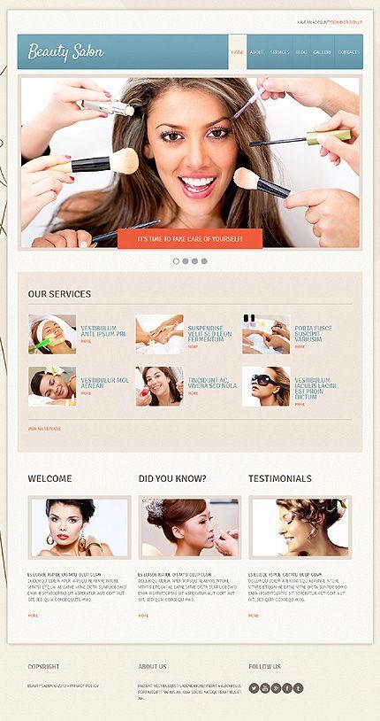 #Joomla #BeautySalon theme. $75. #responsiveDesign