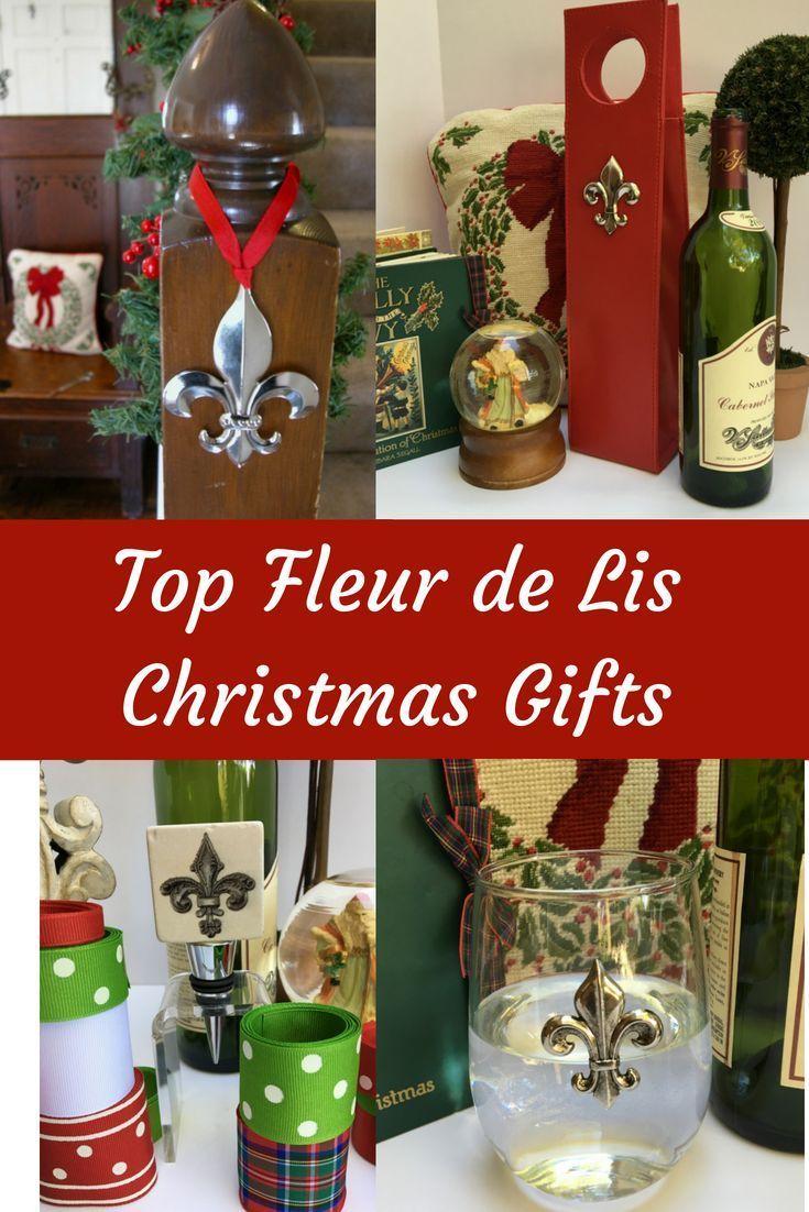 Wonderful Fleur De Lis Gifts For Christmas Bottlestopper Fleurdelis Christmas Wine Wineglass Winecarrier Fleur De Lis Customized Gifts Christmas Gifts