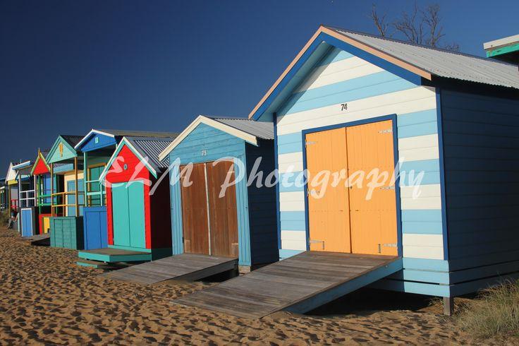 Beach Houses in Mornington Peninsula, Victoria Australia. http://elmphotographydesigns.bigcartel.com/product/beach-houses