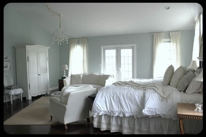Paint Color Bm Palladian Blue Master Bedroom Pinterest