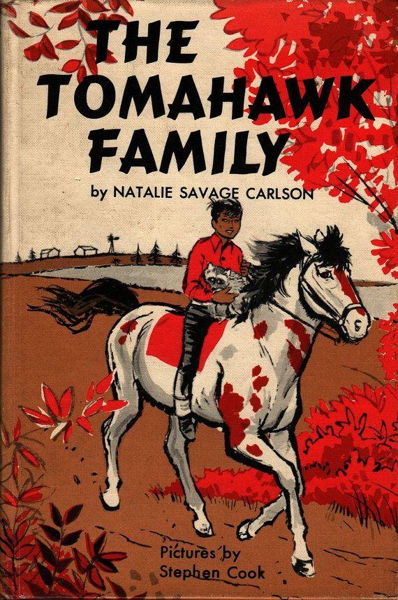 The Tomahawk Family - Natalie Savage Carlson - Stephen Cook - 1960 - Vintage Book