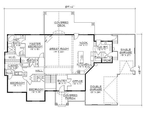 33 Best Rambler House Plans Images On Pinterest