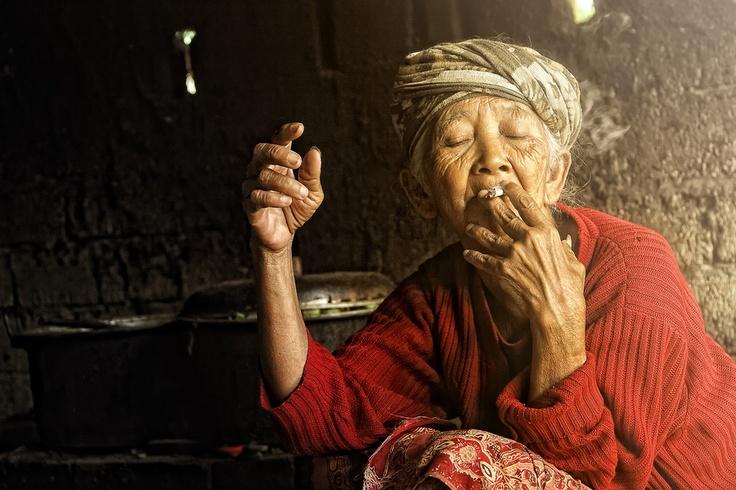 Beautiful Nenek from Bali