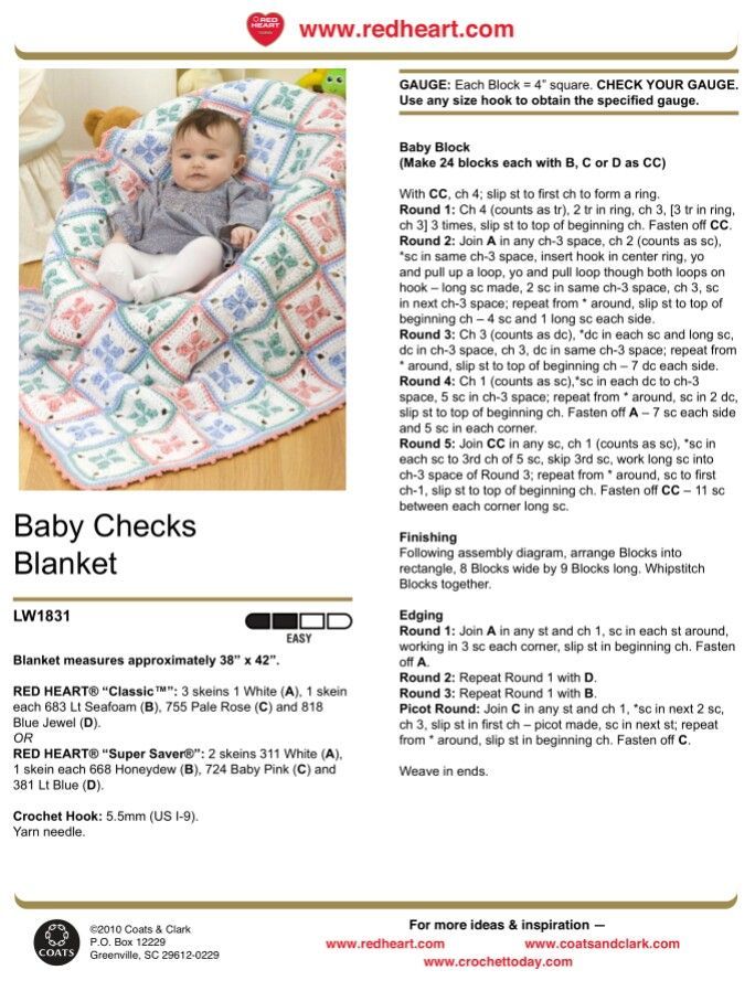 Mejores 149 imágenes de Crochet afghans/baby blankets #1 en ...