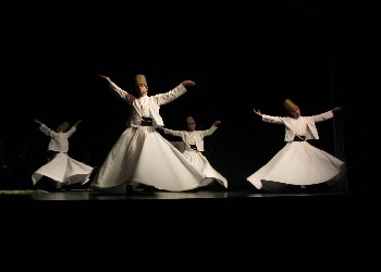Dance of the Order of Mevlevi dervishes