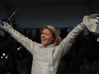 Ukrainian sabre fencer Olga Harlan became the European champion, having beaten the Russian sportswoman