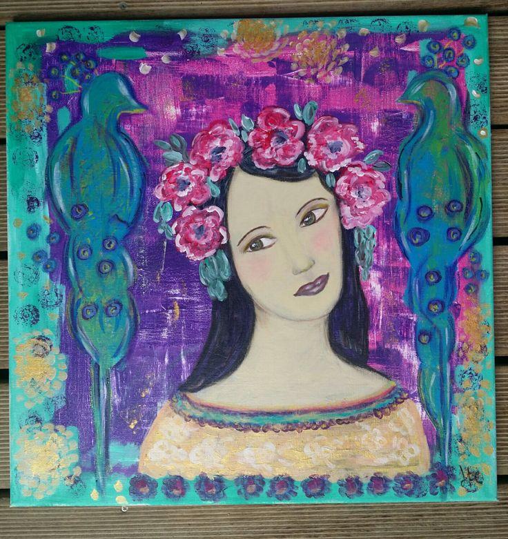 Peinture a la gouache sur toile 28 images 17 for Acheter crucifix mural