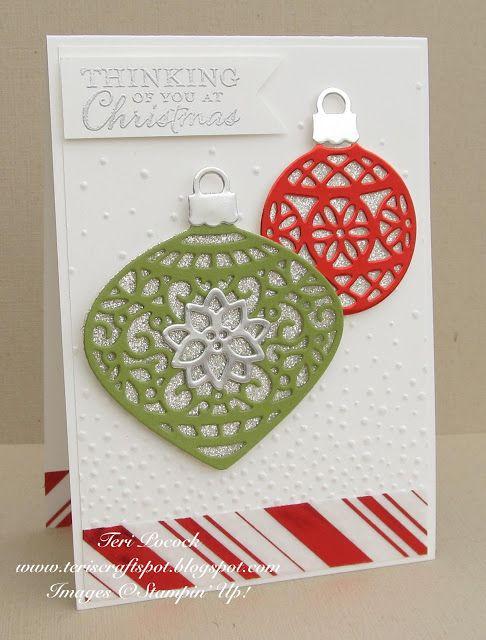 411 best Embellished Ornaments (retired) images on Pinterest ...