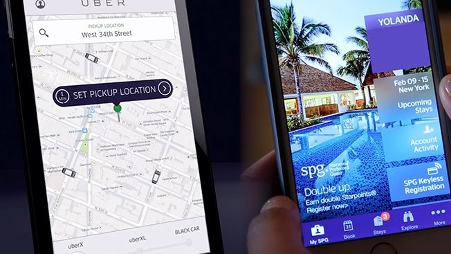 Starwood Teams Up With Uber for Mobile Loyalty program | Adweek