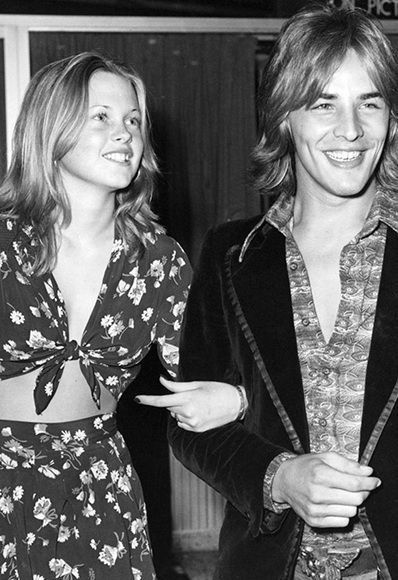 Don Johnson and Melanie Griffith 1972