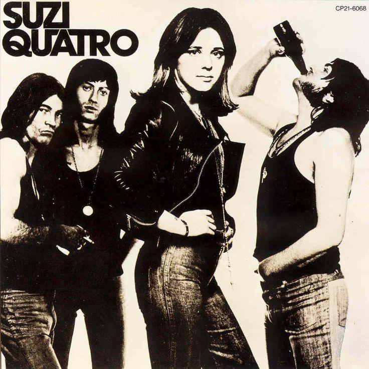 dear golden | vintage: Suzi Quatro    Bad A$$!