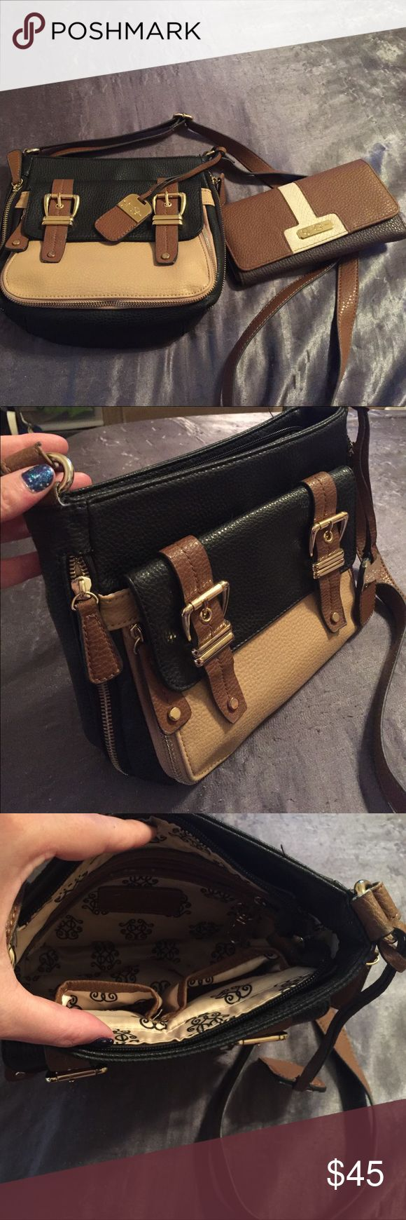 Jessica Simpson cross body and wallet Barely used wallet and cross body purse Bags Crossbody Bags