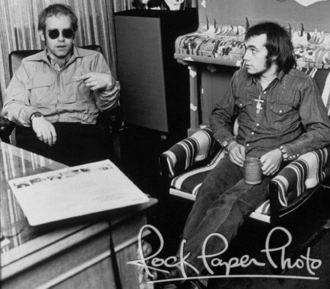Matchless songwriters Elton John (music) & Bernie Taupin (lyrics)