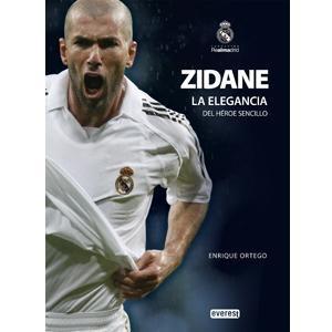 Libro Zidane: La elegancia del héroe sencillo. Real Madrid. Tienda oficial online Real Madrid CF para España.