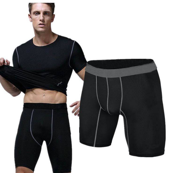 Sports gym shorts PRO Short Men Running compression shorts Sweatpants Bodybuilding Combat Dry Training Leggings men short pants -- Click the image to visit the AliExpress website