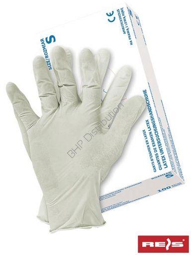 Lateksowe rękawice ochronne RALATEX(22)
