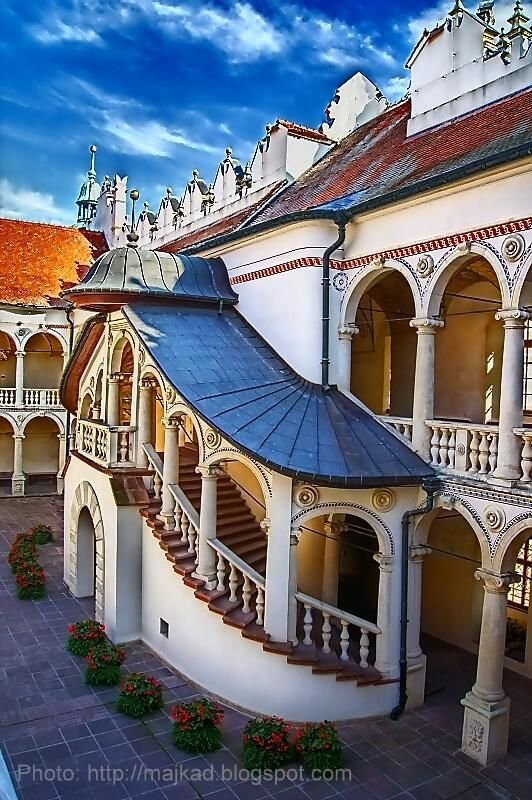 baranow sandomierski palace renaissane built 1591-1606 known as 'little wawel'