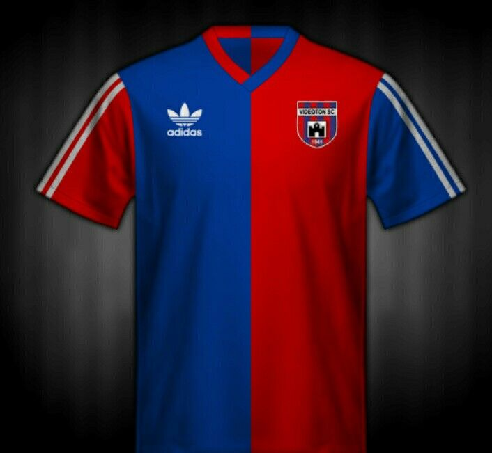 Videoton of Hungary shirt for the 1985 UEFA Cup Final.