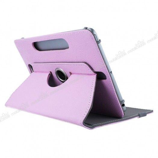 Universal 7 Inch 360 Derece Döner Standlı Tablet Deri Kılıf