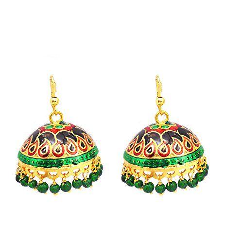 Exquisite Multicolor Tokri Jhumki @249/-
