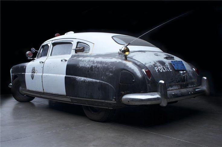 1949 HUDSON SUPER 6 SEDAN POLICE CAR
