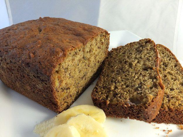 Cricket flour banana bread - recipe @ Next Millenium Farms