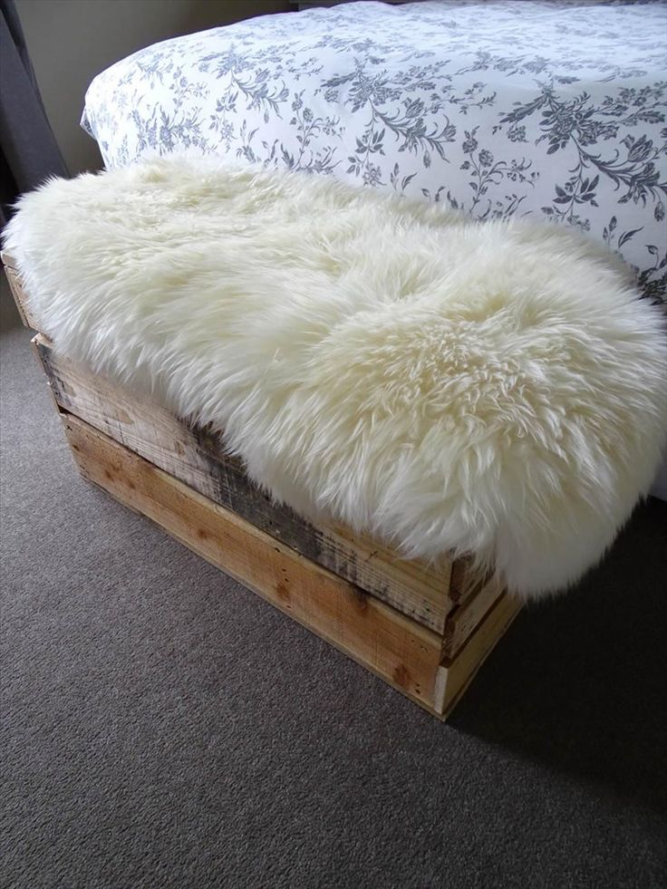 Salvaged Timber Storage Crate