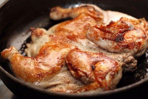 Цыпленок табака – можно ли его приготовить дома? / Простые рецепты