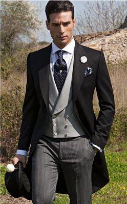 クールなモーニングスーツはに人気。結婚式、花婿さんの参考にしたいモーニングのイメージ。 ウェディング・ブライダルの参考に