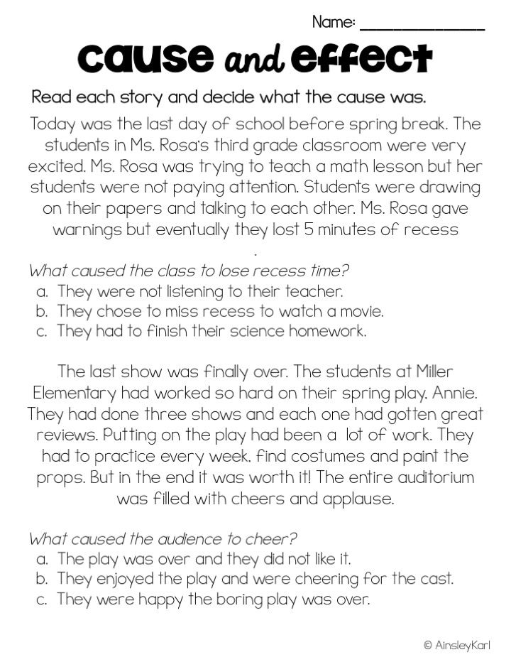 cause and effect essay lessons Cause or effect teacher introduction lesson  underlined part is the cause or effect of the sentence  lessons, her father agreed.