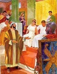 LECTURAS DEL DIA: Lecturas y Liturgia del 6 de Junio de 2014  Las lecturas y Liturgia del dia, con enlace a la misa. y evangelio en mp3 Hechos 25, 13b-21 Salmo 103, 1-2.11-12.19-20ab Juan 21, 15-19