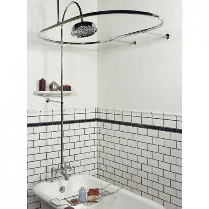 Sheffield Deck Mount Hotel Style Solid Brass Shower