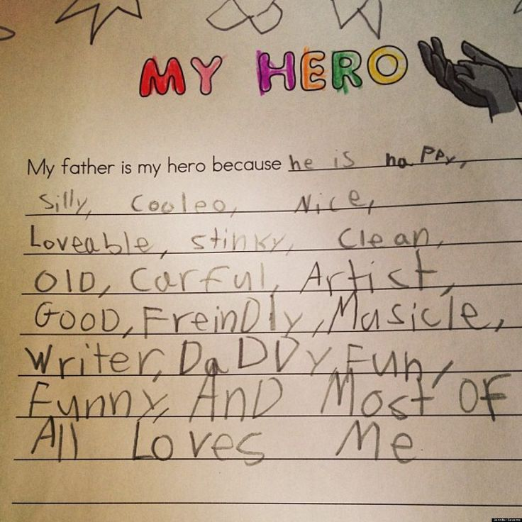 best love you dad images parents dad quotes  my dad my hero essay cute kid note of the day my father is my hero