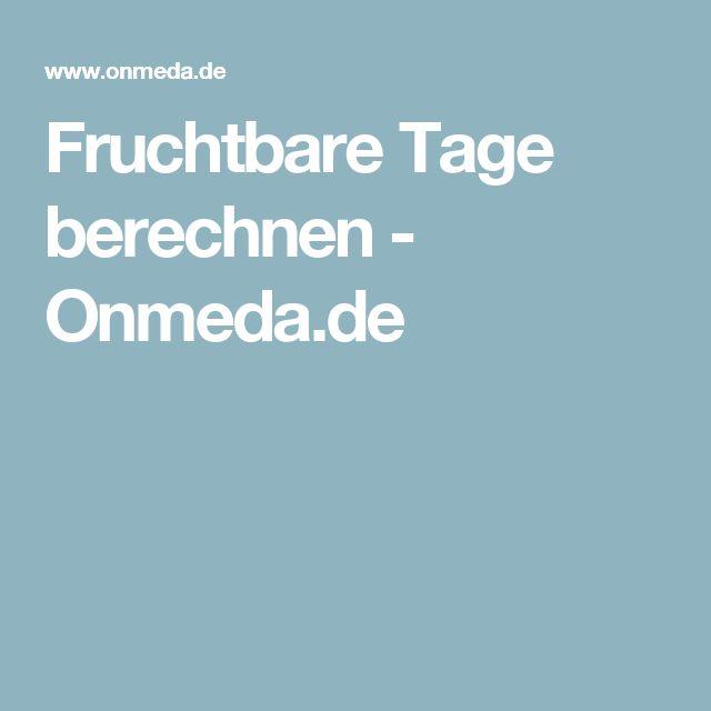 Fruchtbare Tage berechnen - Onmeda.de