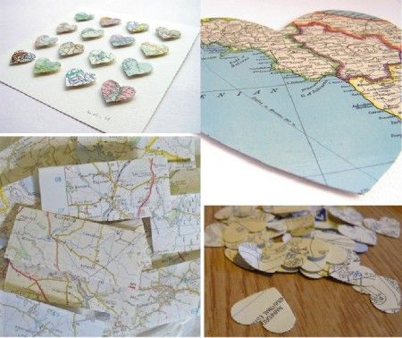 Paper map projects!