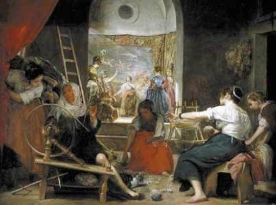 Velasquez: Las Hilanderas (166?) - Prado, Madrid