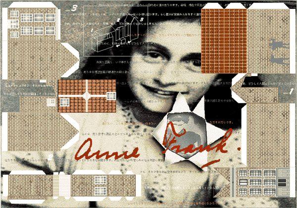 Anne frank paper