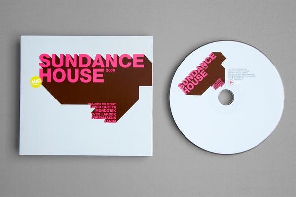 CD design by Nicolas Zentner, via Behance