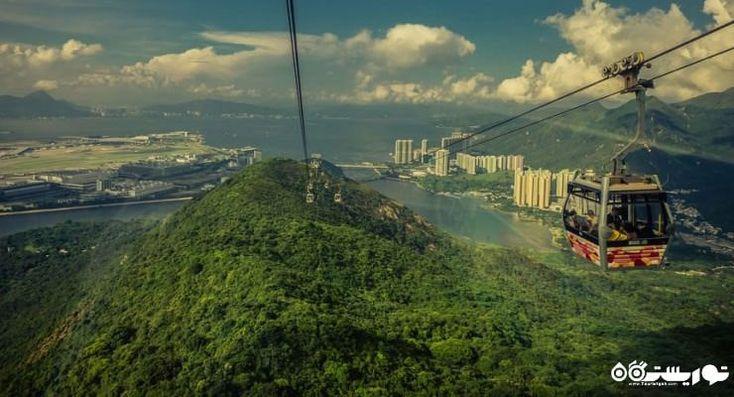 تله کابین در نن پینگ در هنگ کنگ