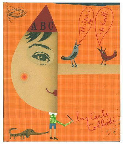Pinocchio, Cover by Sara Fanelli