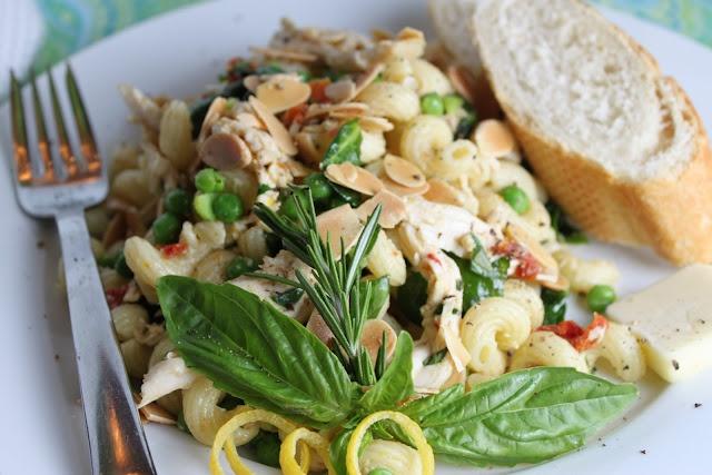 Lemon-Basil Chicken Pasta Salad | Recipes to Try | Pinterest