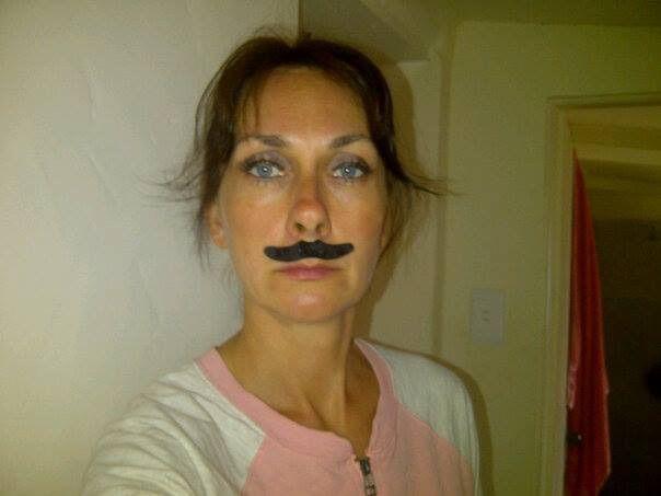 #fun#party#polishgirl#blueeyes#moustache