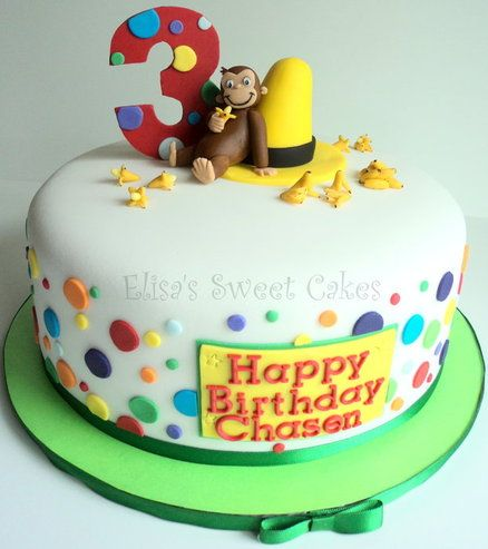 curious george cake topper - Google Search