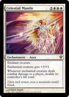 Magic: the Gathering - Celestial Mantle - Zendikar $2.95