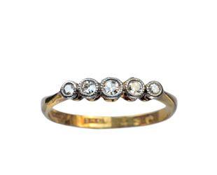 1910-30s English 5 Diamond Band, 18K, Platinum : Erie Basin Antiques: Chelsea Rings, Diamonds Band, Diamond Wedding Rings, Basin Antiques, Vintage Styles Antique Jewelry, Diamond Bands, English Diamonds, Diamonds Weddings Rings, 1910 30S English
