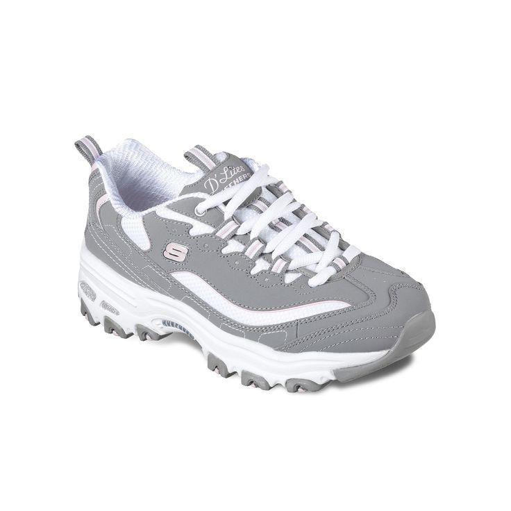 Skechers D'Lites Biggest Fan Women's Athletic Shoes, Size: 7.5, Beige Oth