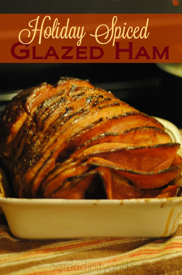 Better than Honey Baked Ham! This ham tastes like Christmas....it's the BEST glazed ham I've ever had!