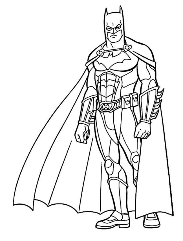 Awesome Batman Coloring Page Who Doesn T Know Batman Maybe All Dc Fans And Superhero Movie Fans Mus Batman Coloring Pages Shape Coloring Pages Coloring Pages