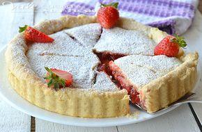 Strawberry pie (crostata di fragole americana)