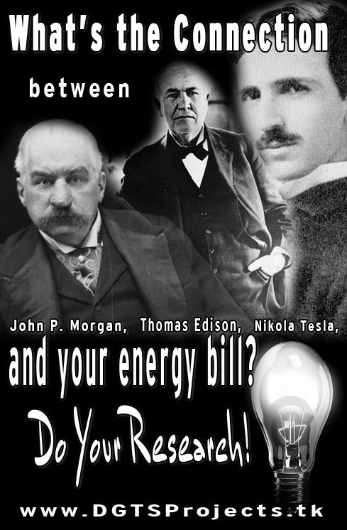 So, how are J.P. Morgan, Nikola Tesla, and Thomas Edison connected to YOUR energy bill?